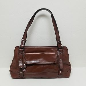 Small Brown leather handbag